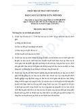 Hệ thống chuẩn mực kế toán Việt Nam số 27: Báo cáo tài chính giữa niên độ
