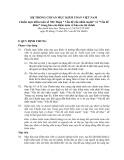 """Hệ thống chuẩn mực kiểm toán Việt Nam - Chuẩn mực kiểm toán số 706: Đoạn """" Vấn đề cần nhấn mạnh"""" và """"Vấn đề khác"""" trong báo cáo kiểm toán về báo cáo tài chính"""