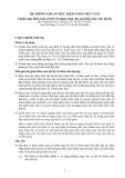 Hệ thống chuẩn mực kiểm toán Việt Nam - Chuẩn mực kiểm toán số 610: Sử dụng công việc của kiểm toán viên nội bộ