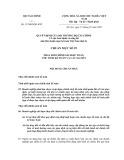 Hệ thống chuẩn mực kế toán Việt Nam số 29: Thay đổi chính sách kế toán, ước tính kế toán và các sai sót