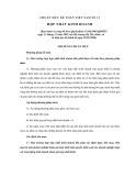 Hệ thống chuẩn mực kế toán Việt Nam số 11: Hợp nhất kinh doanh
