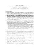 Hệ thống chuẩn mực kiểm toán Việt Nam - Chuẩn mực kiểm toán số 1000: Kiểm toán báo cáo quyết toán vốn đầu tư hoàn thành