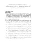 Hệ thống chuẩn mực kiểm toán Việt Nam - Chuẩn mực kiểm toán số 300: Lập kế hoạch kiểm toán báo cáo tài chính