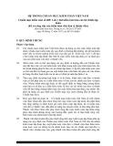 Hệ thống chuẩn mực kiểm toán Việt Nam - Chuẩn mực kiểm toán số 600: Lưu ý khi kiểm toán báo cáo tài chính tập đoàn