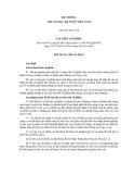 Hệ thống chuẩn mực kế toán Việt Nam số 30: Lãi trên cổ phiếu