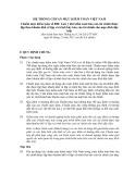 Hệ thống chuẩn mực kiểm toán Việt Nam - Chuẩn mực kiểm toán số 800: Lưu ý khi kiểm toán báo cáo tài chính được lập theo khuôn khổ về lập và trình bày báo cáo tài chính cho mục đích đặc biệt