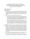 Hệ thống chuẩn mực kiểm toán Việt Nam - Chuẩn mực kiểm toán số 620: Sử dụng công việc của chuyên gia