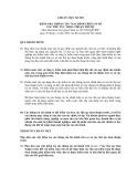 Hệ thống chuẩn mực kiểm toán Việt Nam - Chuẩn mực kiểm toán số 920: Kiểm tra thông tin tài chính trên cơ sở các thủ tục thoả thuận trước