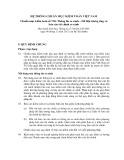 Hệ thống chuẩn mực kiểm toán Việt Nam - Chuẩn mực kiểm toán số 710: Thông tin so sánh – Dữ liệu tương ứng và báo cáo tài chính so sánh