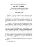 Hệ thống chuẩn mực kế toán Việt Nam số 19: Hợp đồng bảo hiểm