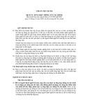 Hệ thống chuẩn mực kiểm toán Việt Nam - Chuẩn mực kiểm toán số 930: Dịch vụ tổng hợp thông tin tài chính