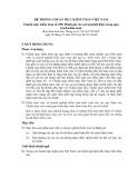 Hệ thống chuẩn mực kiểm toán Việt Nam - Chuẩn mực kiểm toán số 450: Đánh giá các sai sót phát hiện trong quá trình kiểm toán