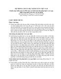 Hệ thống chuẩn mực kiểm toán Việt Nam - Chuẩn mực kiểm toán số 250: Xem xét tính tuân thủ pháp luật và các quy định trong kiểm toán báo cáo tài chính