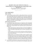 Hệ thống chuẩn mực kiểm toán Việt Nam - Chuẩn mực kiểm toán số 320: Mức trọng yếu trong lập kế hoạch và thực hiện kiểm toán