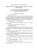 Hệ thống chuẩn mực kế toán Việt Nam số 8: Thông tin tài chính về những khoản vốn góp liên doanh