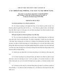 Hệ thống chuẩn mực kế toán Việt Nam số 18: Các khoản dự phòng, tài sản và nợ tiềm tàng