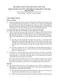 Hệ thống chuẩn mực kiểm toán Việt Nam - Chuẩn mực kiểm toán số 705: Ý kiến kiểm toán không phải là ý kiến chấp nhận toàn phần