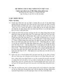 Hệ thống chuẩn mực kiểm toán Việt Nam - Chuẩn mực kiểm toán số 500: Bằng chứng kiểm toán