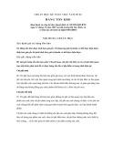 Hệ thống chuẩn mực kế toán Việt Nam số 2: Hàng tồn kho