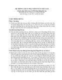 Hệ thống chuẩn mực kiểm toán Việt Nam - Chuẩn mực kiểm toán số 570: Hoạt động liên tục