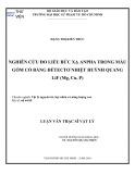 Luận văn Thạc sĩ Vật lý: Nghiên cứu đo liều bức xạ anpha trong mẫu gốm cổ bằng đềtectơ nhiệt huỳnh quang LiF (Mg, Cu, P)
