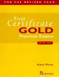 first certificate gold practice exams