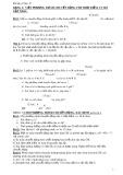 Bài tập Cơ học 10