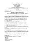 Tiêu chuẩn ngành Y tế 52 TCN-CTYT 37:2005