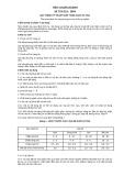 Tiêu chuẩn ngành 28 TCN 213:2004