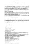 Tiêu chuẩn ngành 64 TCN 102:1997