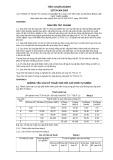 Tiêu chuẩn ngành 22 TCN 304:2003