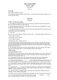 Tiêu chuẩn ngành TCN 01:2002