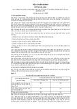 Tiêu chuẩn ngành 22 TCN 246:1998