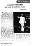 Nâng cao chất lượng xuất bản sách nghiên cứu tư tưởng Hồ Chí Minh