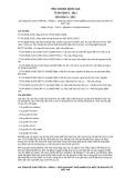Tiêu chuẩn Quốc gia TCVN 6238-3:2011 - ISO 8124-3:2011