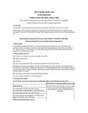 Tiêu chuẩn Quốc gia TCVN 8433:2010