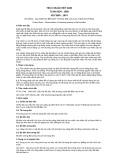 Tiêu chuẩn Việt Nam TCVN 6034:1995 - ISO 3060:1974