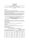 Quy chuẩn Quốc gia TCVN 5922:1995 - ISO 3488:1982