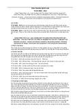 Tiêu chuẩn Quốc gia TCVN 9906:2013
