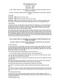 Tiêu chuẩn Quốc gia TCVN 6751:2009