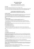 Tiêu chuẩn Quốc gia TCVN 5756:2005