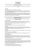 Quy chuẩn Quốc gia TCVN 5923:1995 - ISO 4740:1985