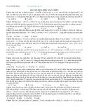 Bài tập phần Điện xoay chiều