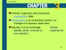 Lecture Introduction to financial accounting - Chapter 3: Recording transactions