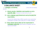 Lecture Introduction to financial accounting - Chapter 2: More on financial statements, ratios