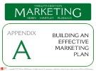 Lecture Marketing (12/e): Appendix A – Kerin, Hartley, Rudelius