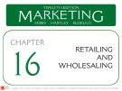 Lecture Marketing (12/e): Chapter 16 – Kerin, Hartley, Rudelius