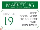 Lecture Marketing (12/e): Chapter 19 – Kerin, Hartley, Rudelius