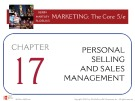 Lecture Marketing: The core (5/e): Chapter 17 – Kerin, Hartley, Rudelius