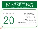 Lecture Marketing (12/e): Chapter 20 – Kerin, Hartley, Rudelius